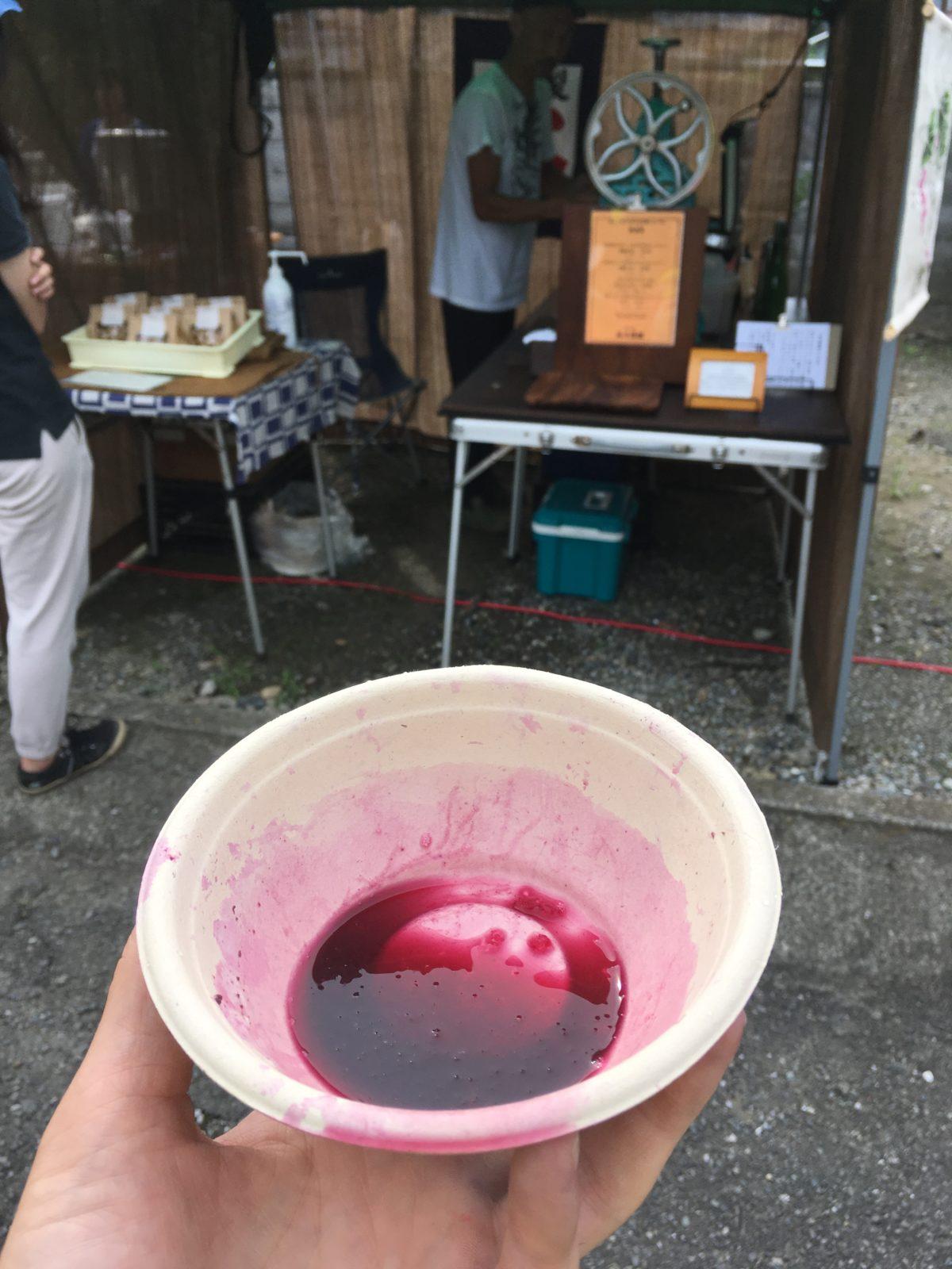 武蔵ワイナリー収穫体験