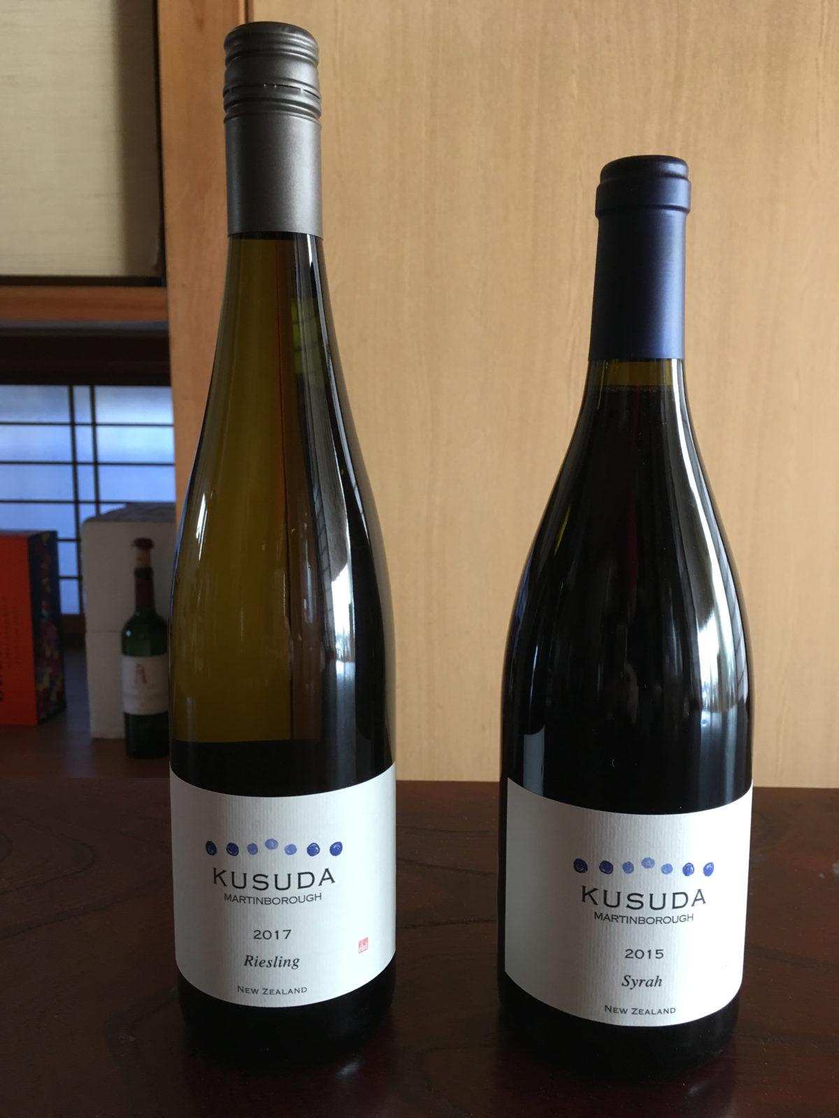 楠田さんのワインが到着❗