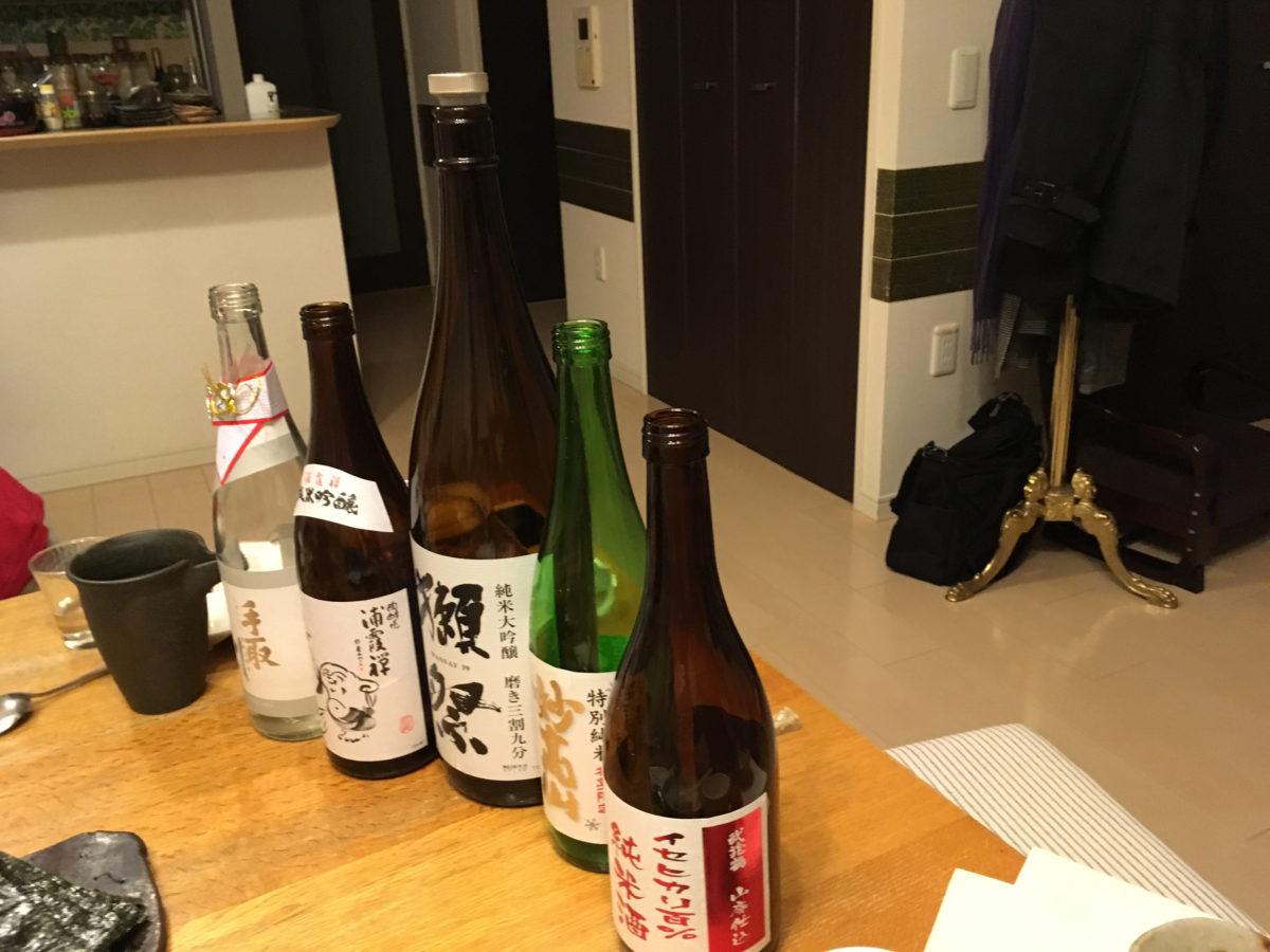 日本酒の会に参加しました❗