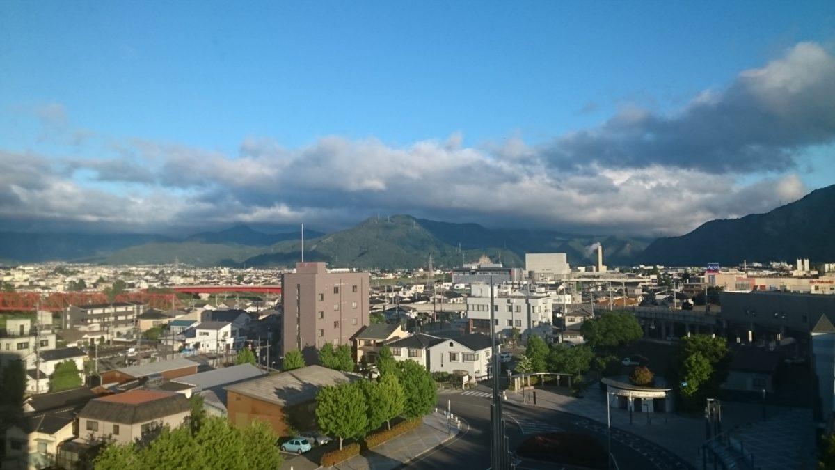 千曲川ハーフマラソン当日