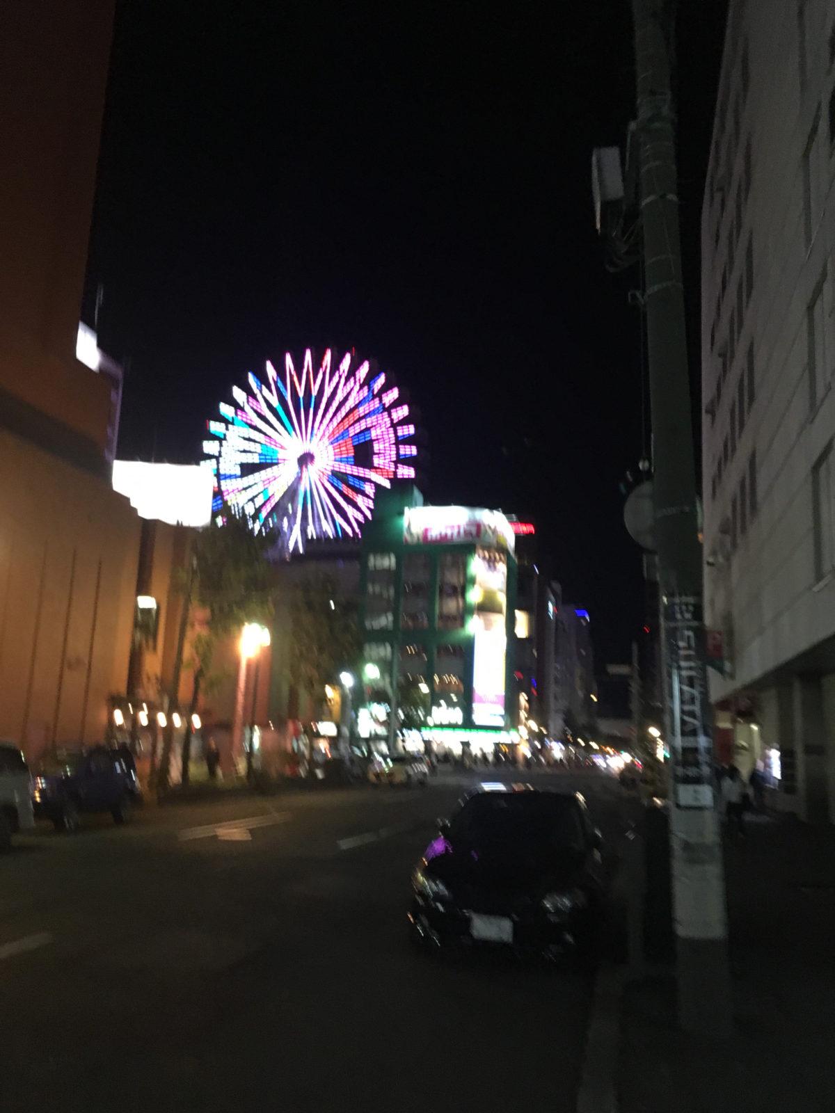 札幌の観覧車