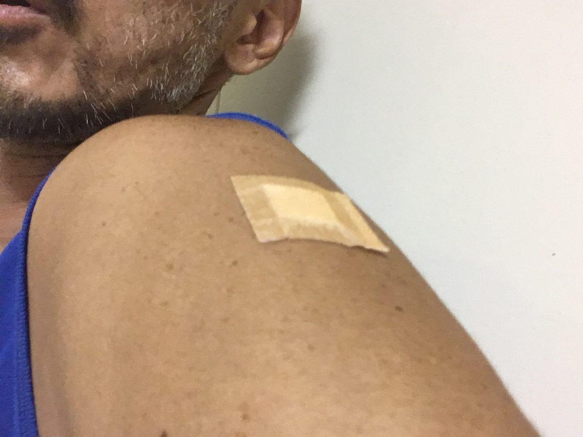 予防接種1回目